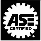 We employ ONLY ASE certified mechanics